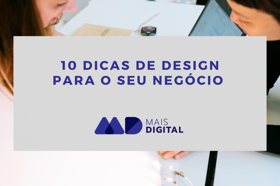 Artigo 10 dicas de design